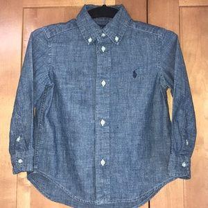 Ralph Lauren button down shirt 3T
